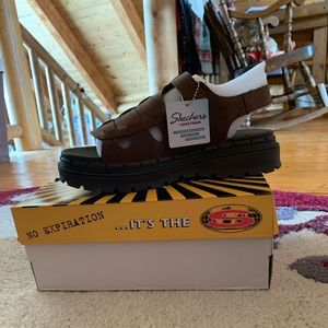 Skechers jammers throwback sandals NWT